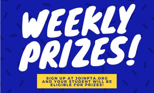 Join PTA weekly prizes